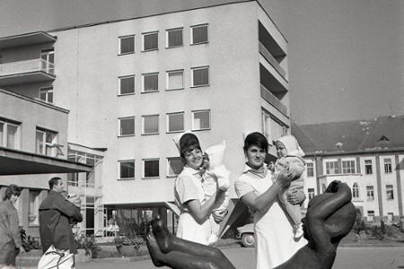 Dojčenský pavilón vžilinskej nemocnici otvorili pred 50 rokmi