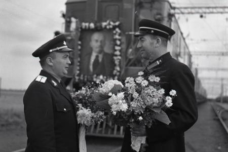 Začiatok elektrickej železničnej premávky medzi ČSSR a ZSSR