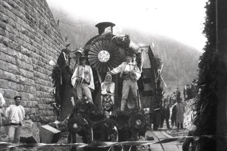 Železničná trať Červená Skala - Margecany opäť v prevádzke