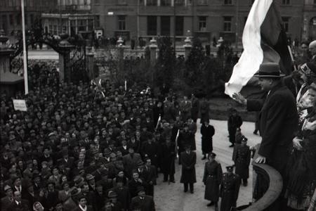 Posledný verejný míting Demokratickej strany pred zmenou režimu