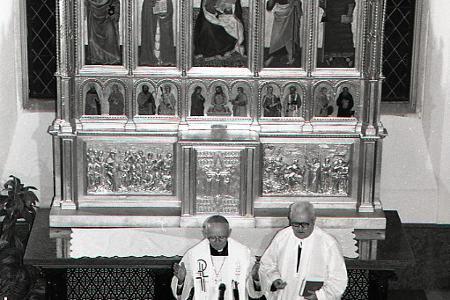 Rok 1995: Česi vrátili Slovákom Bojnický oltár