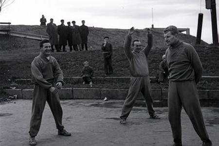 Slovan začína zimnú prípravu do úspešného roka 1955