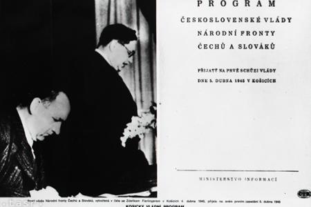 Rok 1945: Vláda prijala Košický vládny program