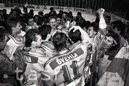 Rok 1992: Hokejisti trenčianskej Dukly zaznamenali historický úspech