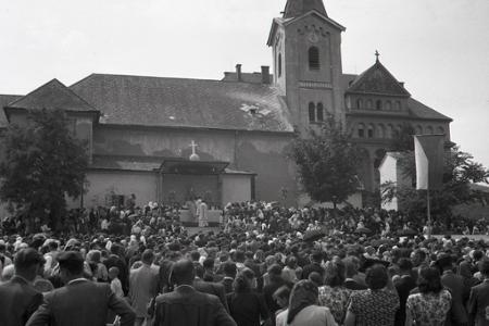 Rok 1950: Prvá národná púť katolíkov v Nitre