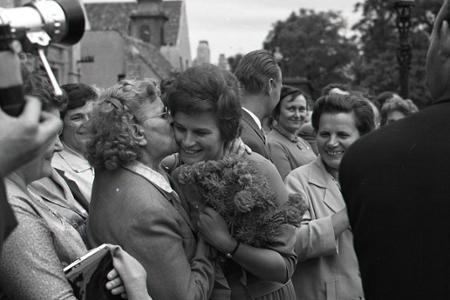 Rok 1963: Bratislava privítala prvú kozmonautku sveta
