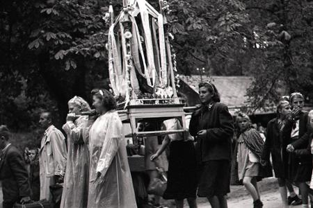 Rok 1950: Mierová púť v Marianke