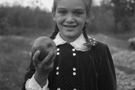 Dozreli jablká, pýcha slovenských ovocinárov