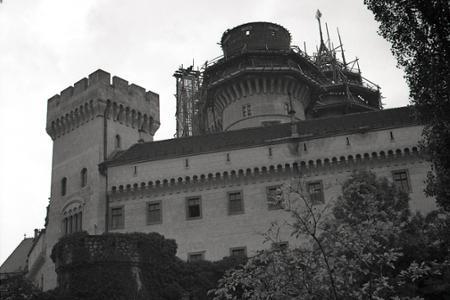 Rok 1950: Rekonštrukcia požiarom poškodeného Bojnického zámku