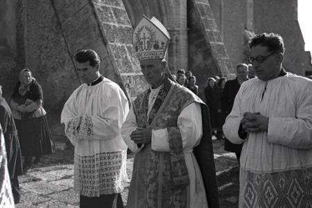 Rok 1950:Slávnostná inštalácia spišského kapitulárneho vikára