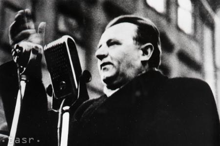 Klement Gottwald bol prvým československým komunistickým prezidentom