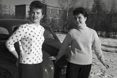 Rok 1956: V Košiciach otvorili závod na výrobu pančúch
