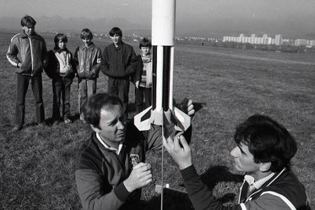 Rok 1987:Raketoví modelári v Spišskej Novej Vsi patria medzi špičku