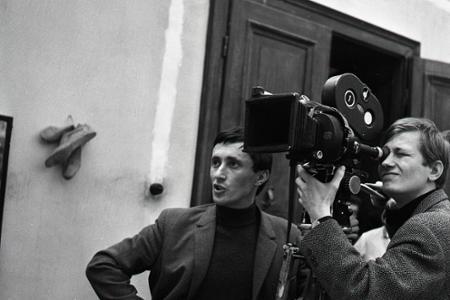 Rok 1966:J. Jakubisko nakrúca na Kolibe svoj  debut Kristove roky