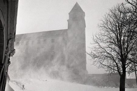 Rok 1971: Zima kraľuje aj v Bratislave