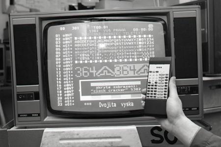 Rok 1988: Prevratná novinka na trhu – televízor s Teletexom
