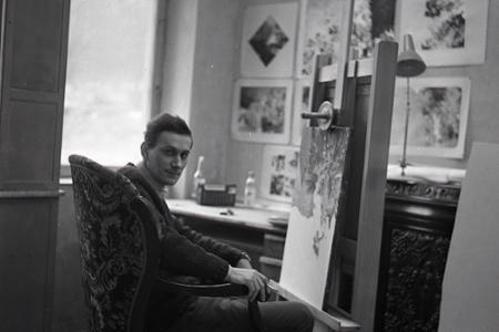 Rok 1969: Albín Brunovský získal prestížnu Herderovu cenu