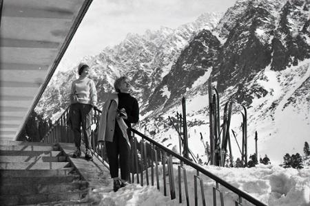 Rok 1962: Nový horský hotel pri Popradskom plese