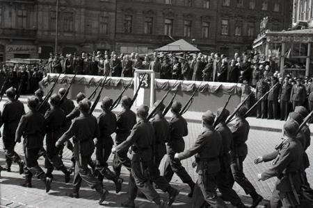 Rok 1946: Prvé výročie oslobodenia Bratislavy