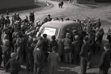 Rok 1955: Po slovenských dedinách jazdí putovné kino