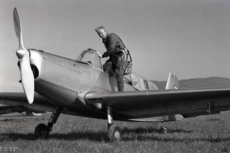 Rok 1959: Prvé majstrovstvá Slovenska v leteckej akrobacii