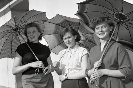 Rok 1959: Slovenské dáždniky do celého sveta