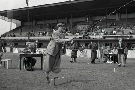 Rok 1955: Celoštátne preteky v rybolovnej technike v Žiline