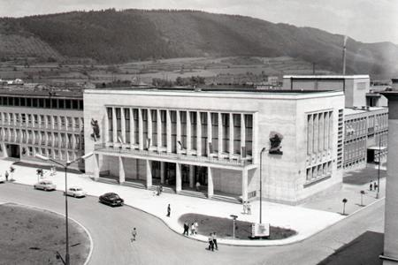 Rok 1963: V Žiline otvorili Dom odborov
