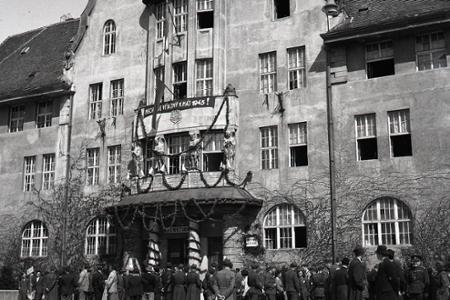 Košice – prvé týždne po skončení vojny