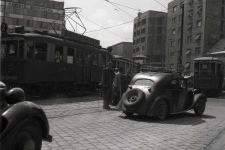 Rok 1948: Týždeň dopravnej bezpečnosti v Bratislave