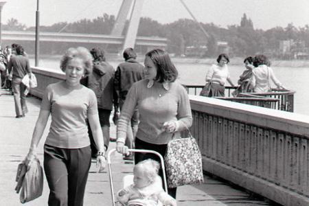 Rok 1975: Bratislave pribudlo Nábrežie Ludvíka Svobodu