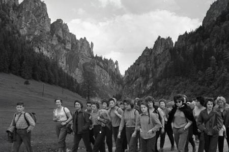 Rok 1962: Vrátna dolina - cieľ mnohých školských výletov