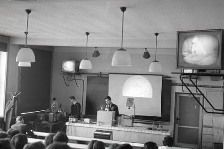 Rok 1966: Vyučovanie s pomocou televízie