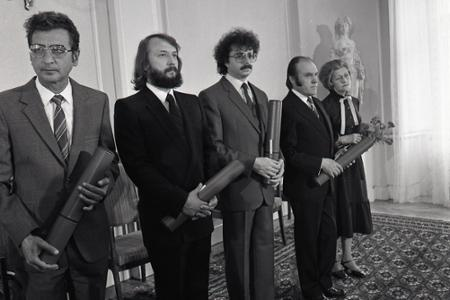 Rok 1983: Slovensko má ďalších zaslúžilých umelcov