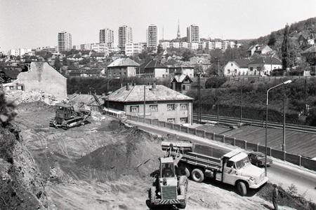 Rok 1976: Bratislavu pripájajú na diaľnicu D2