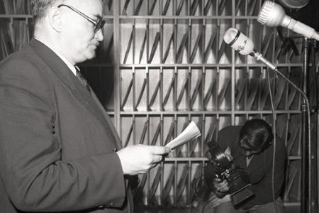 Rok 1950: V Bratislave otvorili kníhkupectvo Sovietska kniha