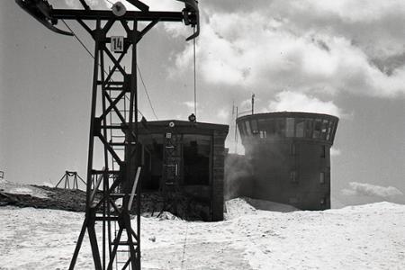 Rok 1960: Sedačkovým výťahom zo Srdiečka cez Chopok až do Jasnej