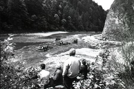 Rok 1971: Pltníctvo ako rarita cestovného ruchu v Pieninách