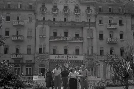 Rok 1954: Kúpele Trenčianske Teplice získavajú svoj cveng