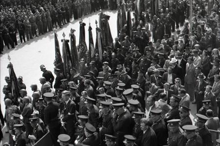 Rok 1948: Trnavu zaplavili tisíce dobrovoľných hasičov