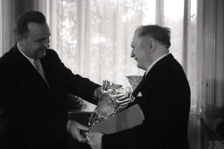 Rok 1956: Prezident Zápotocký vymenoval ďalšieho Slováka za národného umelca