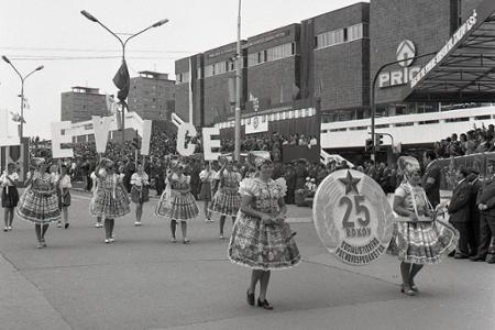 Rok 1974: Celoslovenské dožinkové slávnosti v Nitre