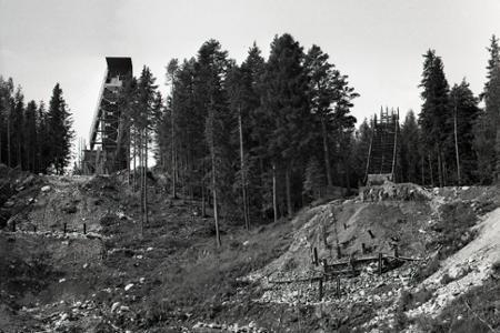 Rok 1967: V Tatranskej Lomnici budú skokanské mostíky