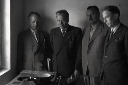 Rok 1955: Vyrobili plyn z  hnoja