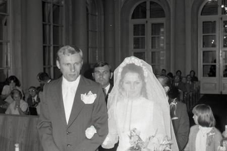 Rok 1973: Sobáš najúspešnejšieho slovenského atléta Jozefa Plachého