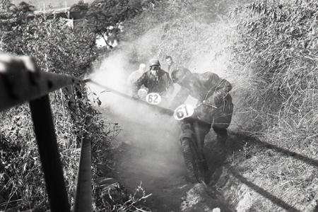 Rok 1956: Bratislavský hrad dobýjajú motocyklisti