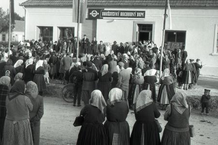 Rok 1954: Obchodné domy už aj na vidieku