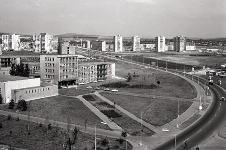 Rok 1971: Sídlisko Chrenová v Nitre patrí medzi najkrajšie v ČSSR