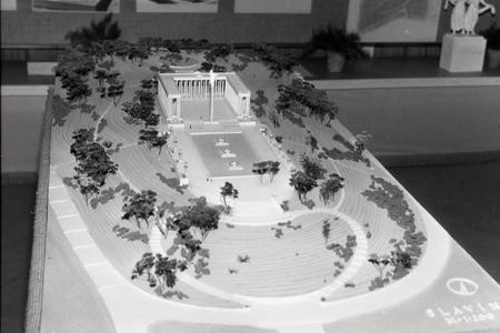 Rok 1953: Vyberajú sa architektonické návrhy pre Slavín