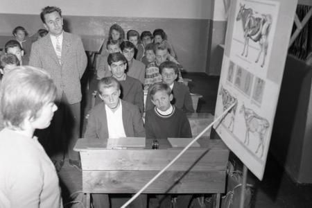 Rok 1963: V Giraltovciach vychovávajú mladých poľnohospodárov